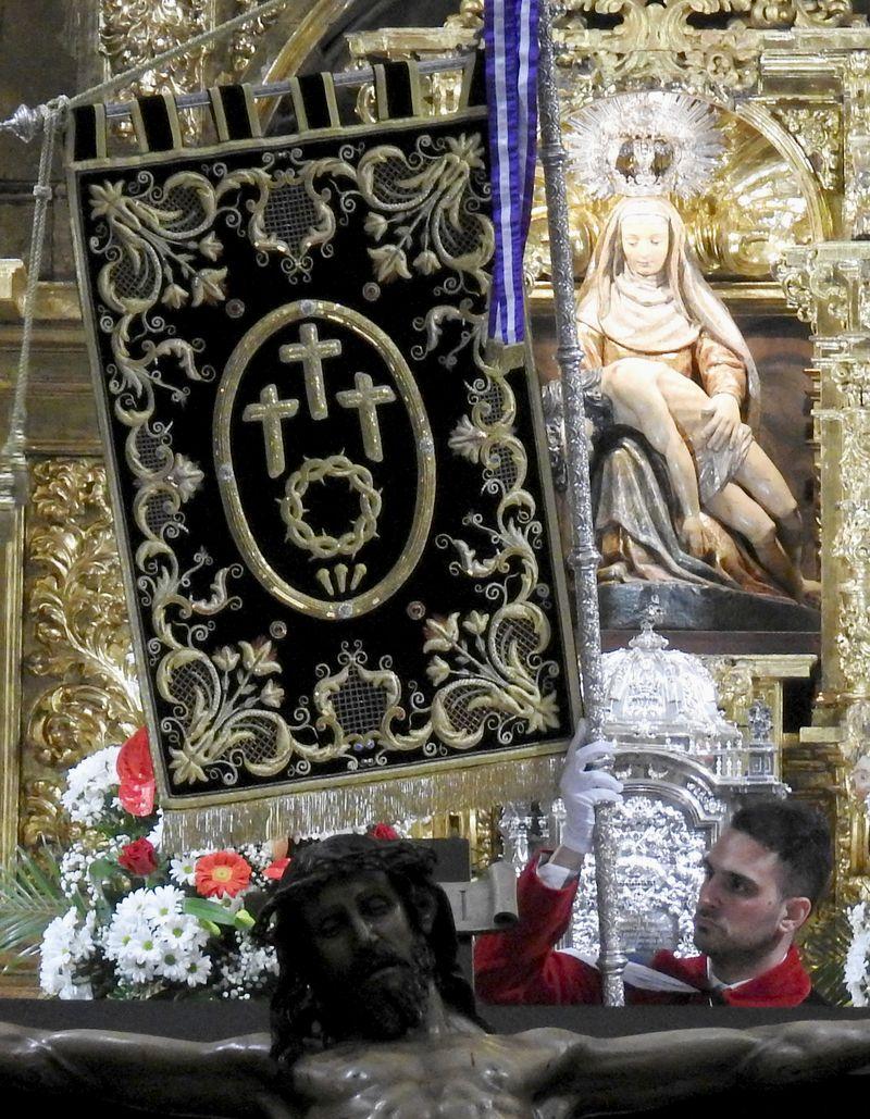 Llanto en el Vía Crucis