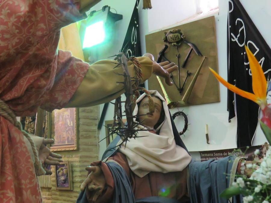 Un museo de Viernes Santo en Sahagún