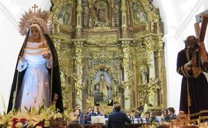 La 'Oración en el Huerto' de Sahagún se realiza en el interior de San Lorenzo