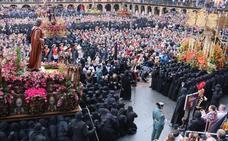 León vive con la máxima intensidad 'El Encuentro', cúlmen de la Semana Santa