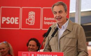 Zapatero cerrará la campaña de las generales en León este viernes con Cendón y Tudanca