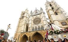En directo | Procesión del Encuentro en León