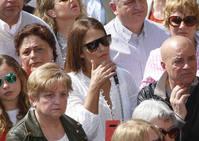 Paula Echevarría disfruta del Encuentro en Candás