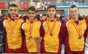 David Villanueva, bronce en los Campeonatos de España en edad escolar de Tenis de Mesa