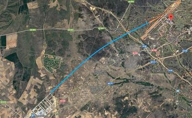 Villadangos plantea una nueva carretera que una su polígono industrial con el Aeropuerto de León