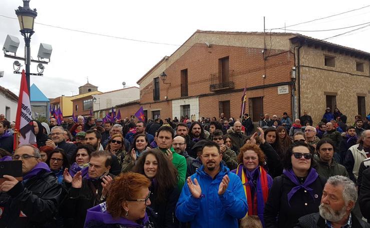 Ambiente del día de Castilla y León en Villalar