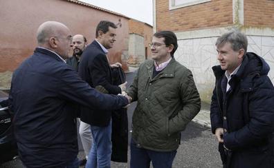 Mañueco evoca la figura política de Herrera del que se considera «digno sucesor»