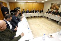 El presidente del PP de Castilla y León visita Astorga