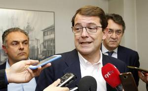 Mañueco: «En Cs están entre tránsfugas y pucherazos para la seriedad que necesitan Castilla y León y España»