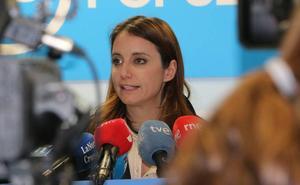 Andrea Levy confía en que León va a ser «absolutamente clave» en la victoria de Pablo Casado