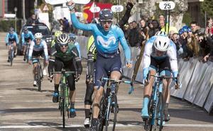 Los jueces arrebatan la victoria a Carlos Barbero en la primera etapa de la Vuelta a Castilla y León