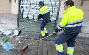 La OCU 'suspende' a León en la limpieza de sus calles, en la que se gasta 53 euros por habitante