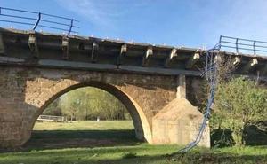 Se amplían hasta el 3 de mayo las restricciones al tráfico en la N-601 a su paso por Puente Villarente