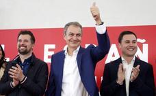 Rodríguez Zapatero: «Es grave que el centroderecha se abrace a los que, por ellos, hoy no se votaría. No saben dónde se han metido»