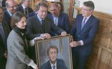 García Prieto ya ocupa su lugar en la Diputación