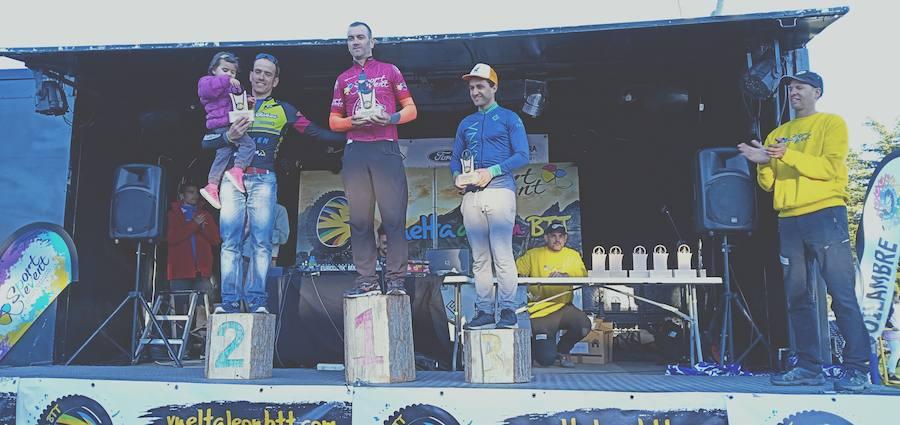 Primera etapa de la Vuelta a León BTT