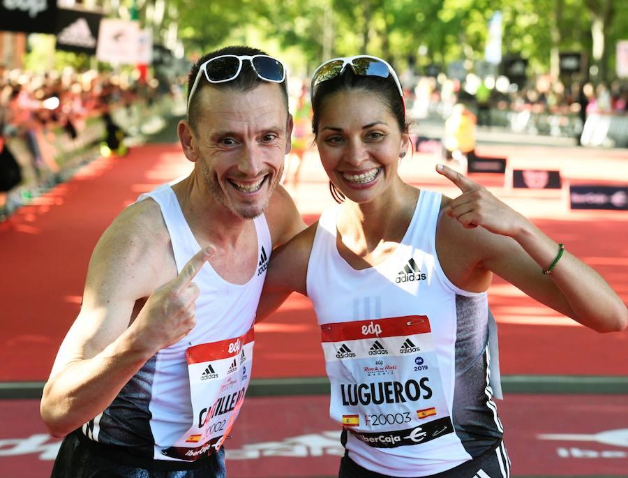 Nuria Lugueros reina en la Media Maratón de Madrid