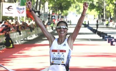 Estreno inmaculado de Nuria Lugueros en la media maratón: 'marcón' y victoria en Madrid