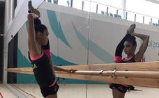 Paula Serrano brilla en Bakú y Sara Llana tropieza en la cinta