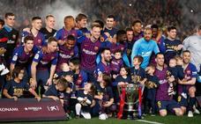 Messi sella otra Liga para el Barcelona