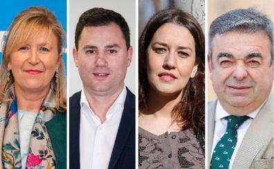 «Familia, amigos y descanso» llenan la jornada de reflexión de los candidatos leoneses