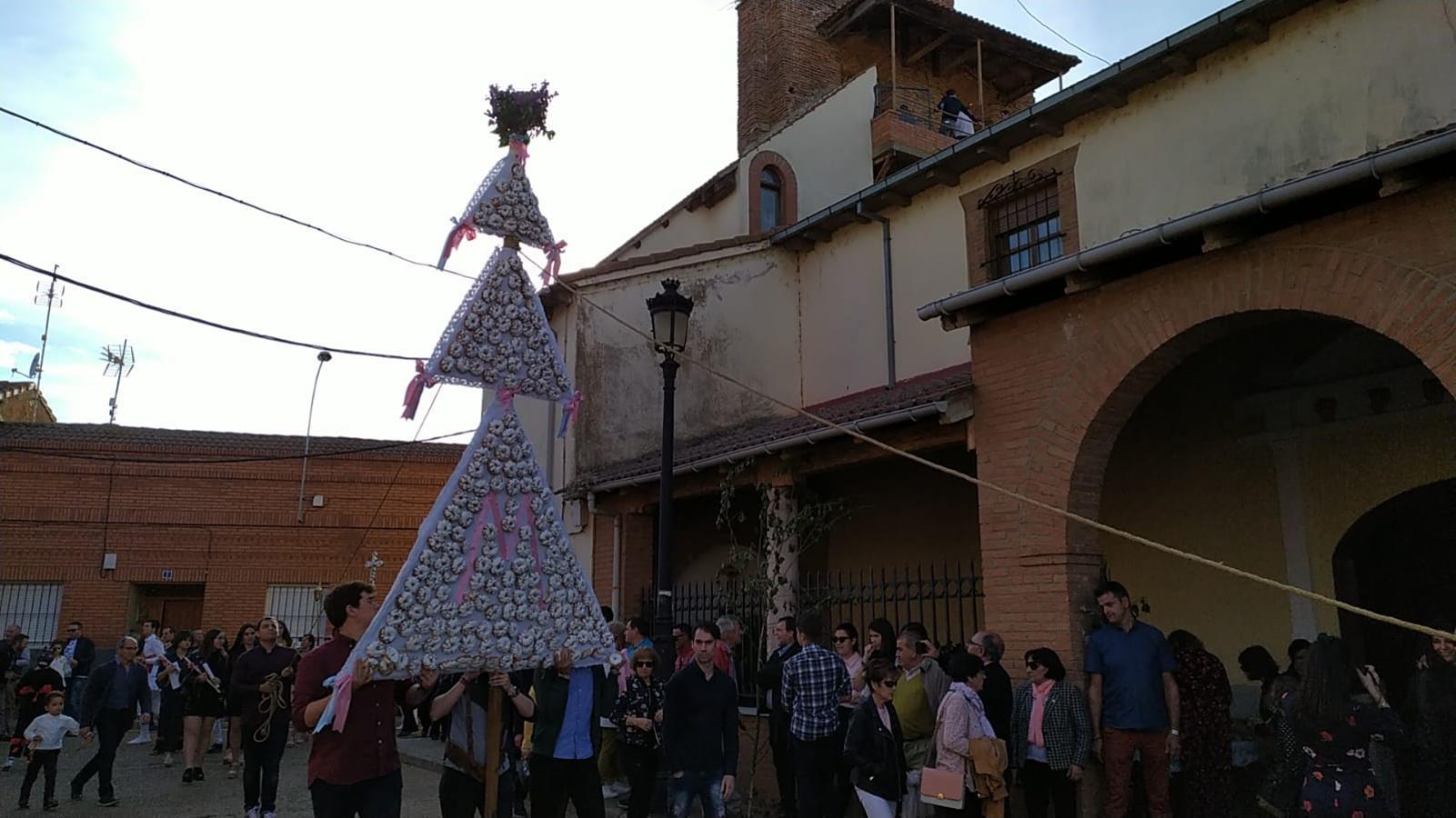 La Virgen del Arrabal por las calles de Laguna de Negrillos