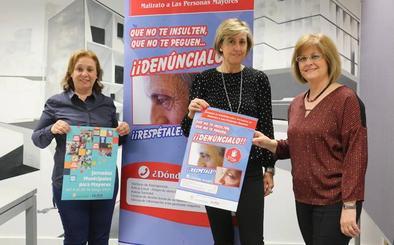 Las Jornadas Municipales para Mayores promueven una campaña de sensibilización y prevención contra el maltrato