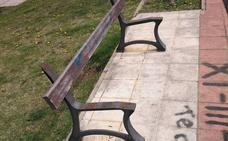 UPL de San Andrés exige la mejora del mobiliario de las zonas verdes de Trobajo del Camino