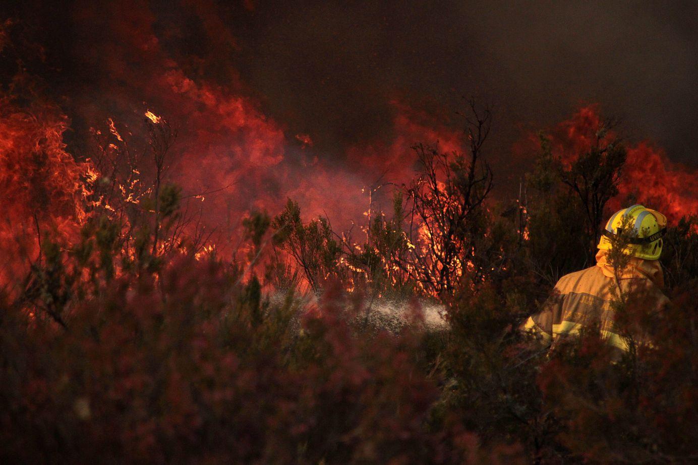 Fuego en Quintanilla del Castillo