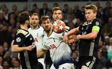 Al Tottenham no le funcionó el plan alternativo y acabó dolorido en silencio