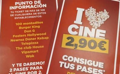 Espacio León lleva a sus clientes al cine por 2,90 euros