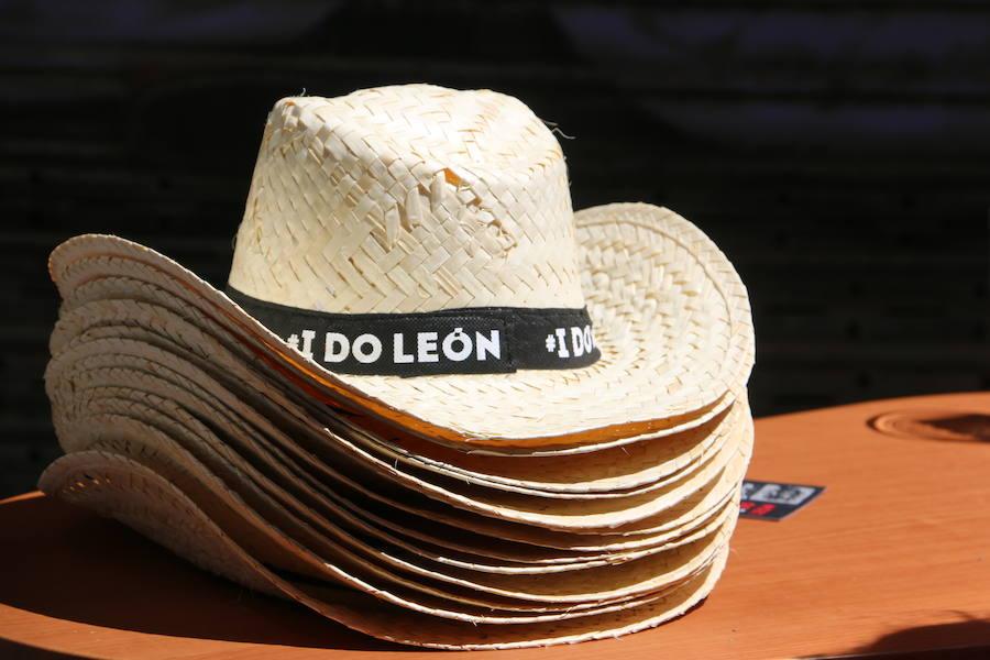 El blanco albarín se promociona en León