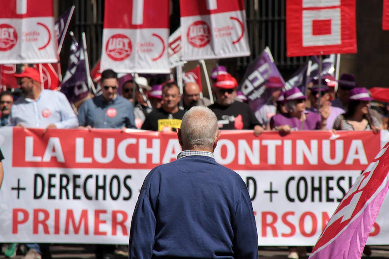 Las imágenes del 1 de Mayo en León capital
