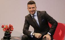 David Beckham regresa a Madrid para un anuncio