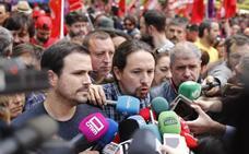 Malestar en Podemos por la reunión de Sánchez con Casado y Rivera