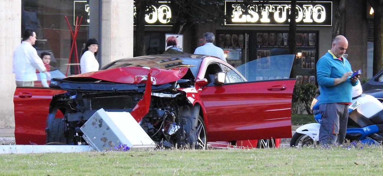 Accidente en León
