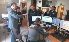 La delegada del Gobierno visita la 12 Zona de la Guardia Civil, que abarca la Comandancia de León