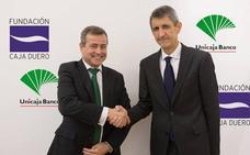 Unicaja Banco renueva su convenio con la Fundación Caja Duero para impulsar sus actividades