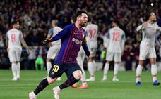 Un Barça más combativo y prudente con el Messi de siempre