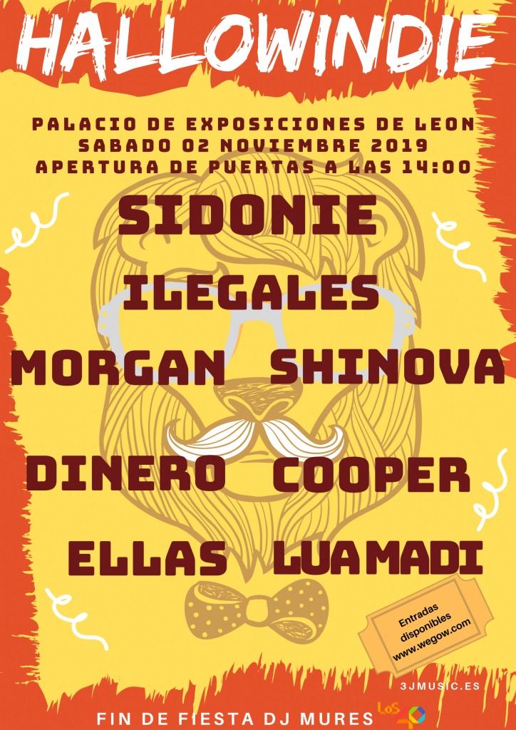 Nace en león el festival más terrorífico con Sidonie e Ilegales como cabezas de cartel