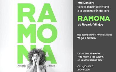 Sputnik acoge la presentación de 'Ramona', el nuevo libro de Rosario Villajos