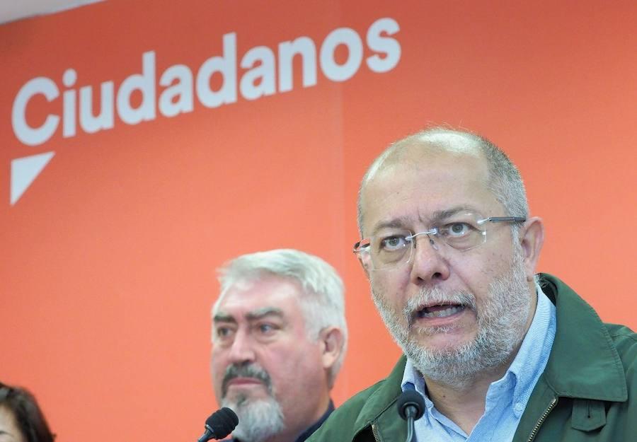 Presentación de los cabezas de lista de Cs para las elecciones autonómicas
