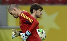 Valdés dedica una emocionante carta a Casillas