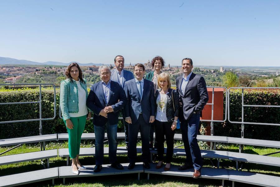 Fernández Mañueco clausura la presentación oficial de los candidatos del PP a las Autonómicas