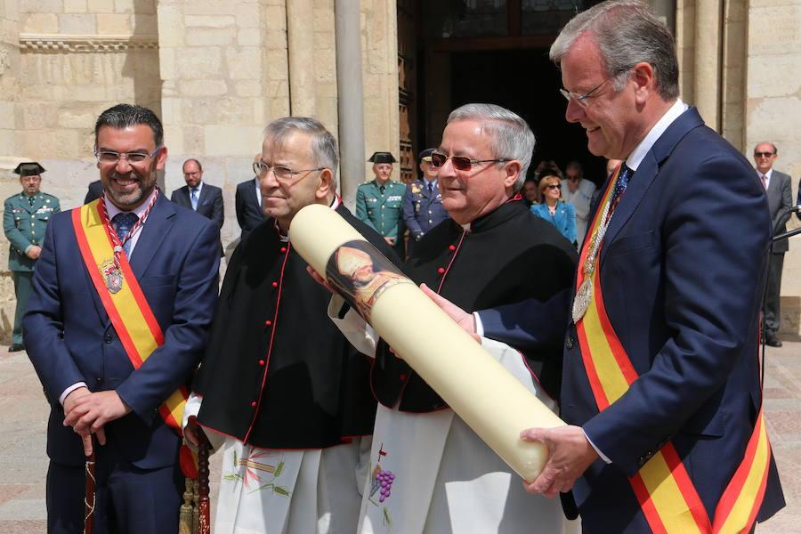 Ceremonia de las Cabezadas en San Isidoro