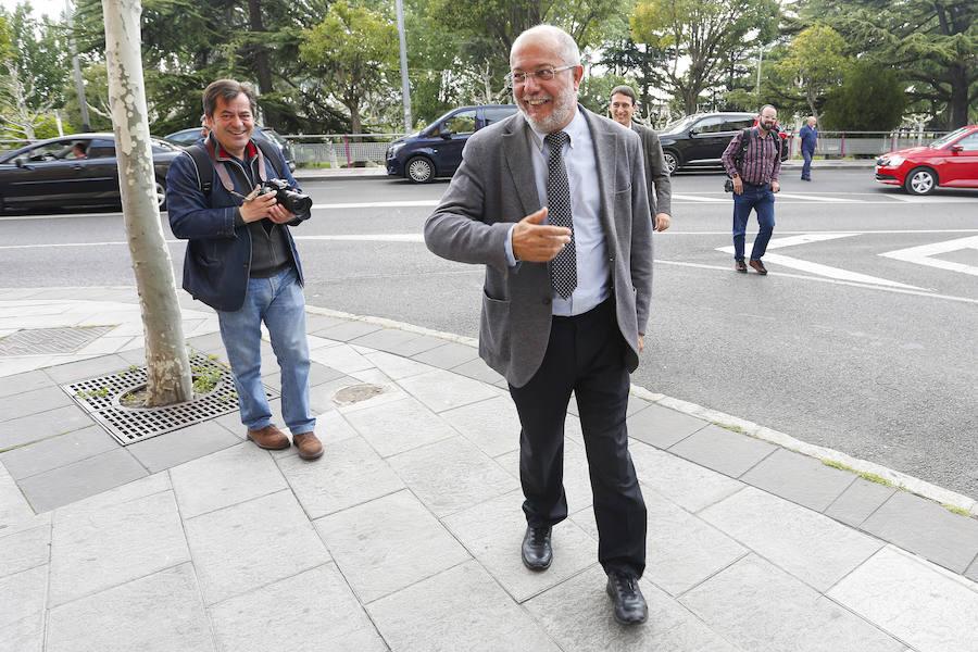 Francisco Igea se reúne con el rector de la Universidad de León
