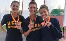 Dos oros y dos platas leonesas en el Campeonato de España Universitario de Atletismo