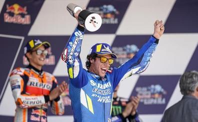 Rins se queda con un sitio en la élite de MotoGP