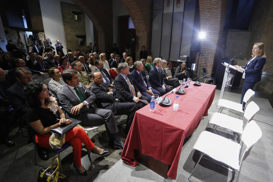 Anal Pastor clausura el I Encuentro Parlamentario España-Estados Unidos en León