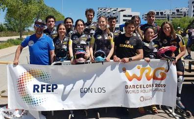 Trece miembros del CD Leitariegos optan a estar en los World Rollers Games